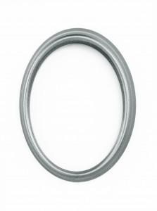 Code: R50-4-12N Measures in cm: external 14 x 10,5 internal 12 x 9 Surface: matt silver
