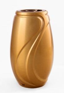 Code: V50-5-24P Measures in cm: 24 x 15 (bottom Ø 10) Surface: bronz