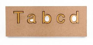 Šablona za slova  Elegants