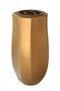 Code: V53-5-26P Measures in cm: 25 x 12 x 12 (bottom: fi 9) Surface: bronze