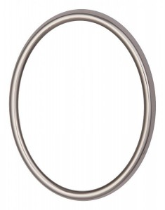 Code: R01-0-12 Measures in cm: 12 x 9 Surface: polished st. steel