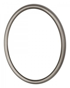 Code: R01-4-12 Measures in cm: 12 x 9 Surface: brushed st. steel